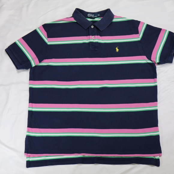 06a50ed2 Polo by Ralph Lauren Shirts | Vintage Striped Polo Shirt | Poshmark
